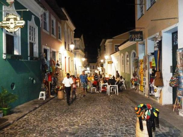 Pelourinho - the Old Town of Salvador and a UN World Heritage Site