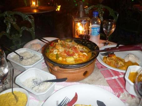 A truly memorable fish and shrimp moqueca stew