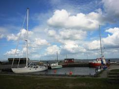 Livø – an impossibly small harbour