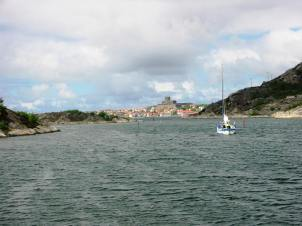 The approach to Marstrand