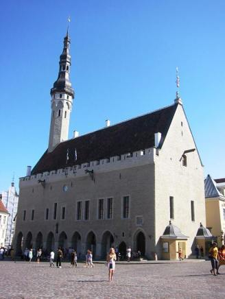 Tallinn - beautiful medieval architecture