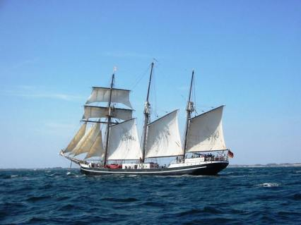 The Baltic seems to be full of sail training ships