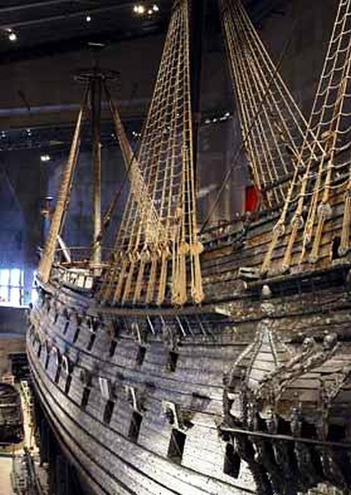 The Vasa in Stockholm
