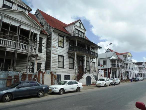 .. more colonial buildings in various states of disrepair
