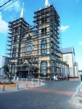 The Paramaribo Cathedral is the tallest wooden building in South America