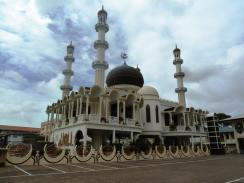 The splendid mosque in Paramaribo