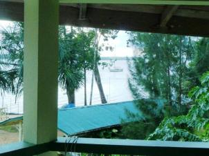 A view of Mina2 in the Essequibo River