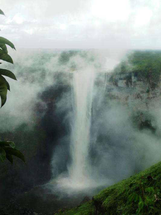 The Kaieteur Falls in Guyana