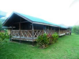 Our cabins at Iwokrama