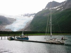 Svartisen glacier - one of the most spectacular pontoons in Europe