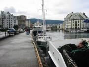On the fishermens' quay at Ålesund