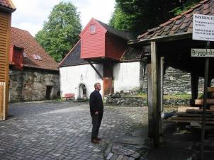 The old quarter of Bergen