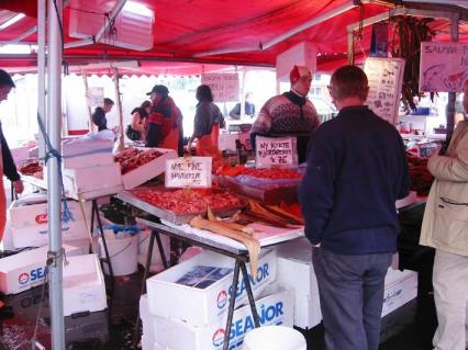 …. and the fishmarket